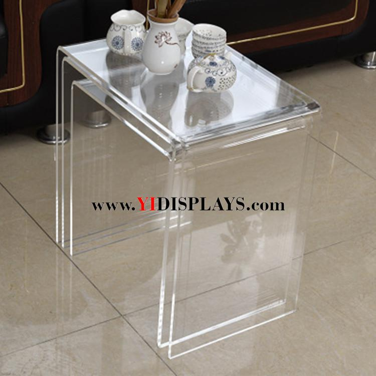 Fantastic Acrylic Perspex Furniture Side Tea Coffee Table Pabps2019 Chair Design Images Pabps2019Com